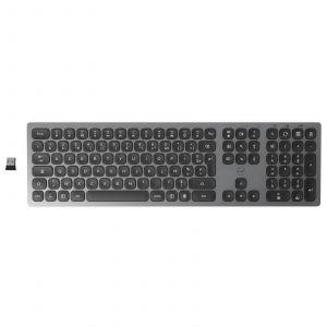 The Mobility Lab Mobility Lab Premium Wireless Slim Keyboard (Gris Foncé)