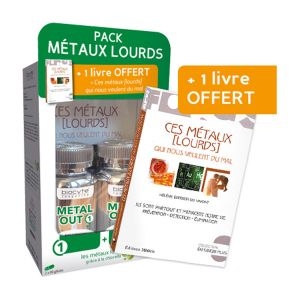 Biocyte Metal Out Pack 180 gélules + 1 Livre offert