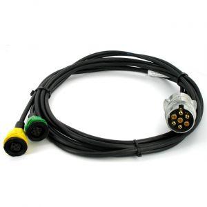 DBD Kit câblage remorque 2,75 m pour feux 6 fonctions