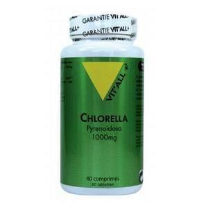 Chlorella pyrenoidosa 1000 g vit'all + en format de 125 comprimés