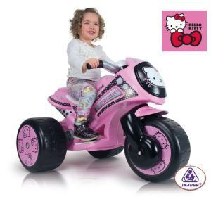 Injusa Scooter électrique Trimoto Hello Kitty