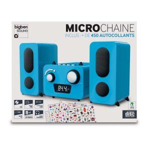 Bigben Interactive MCD11 - Micro-chaîne enfant avec stickers