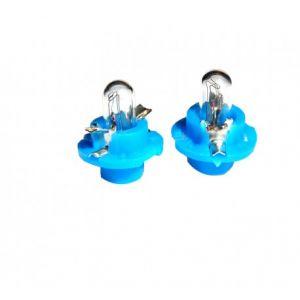 2 ampoules halogène B8.4d 1.2w 12V