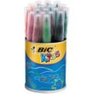 Bic 828965 - Pot de 18 feutres Visaquarelle pointe extra souple