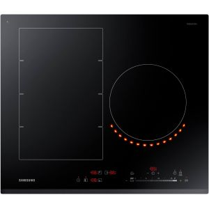 Samsung NZ63K7777BK/EF - Table de cuisson induction 3 foyers