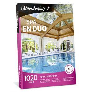 Wonderbox Spa en duo - Coffret cadeau