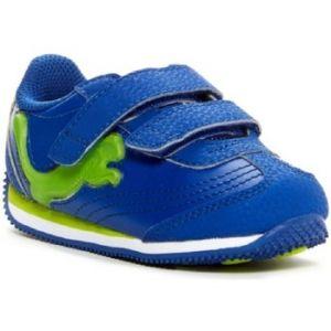 Puma Chaussures enfant Chaussures Sportswear Baby Speeder Ilumnescent V Kid bleu - Taille 19,24