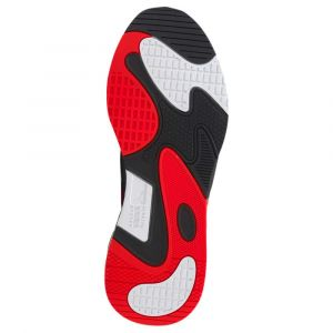 Puma RS-Fast toile Homme-41-Blanc Rouge