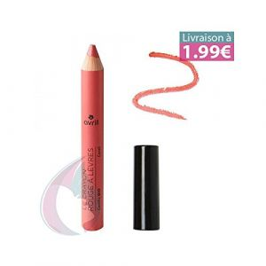 Avril Le crayon rouge à lèvres Corail Certifié bio
