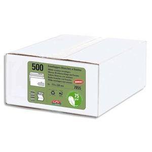 Gpv 500 enveloppes Ecologique  11 x 22 cm (75 g)