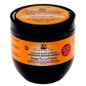 Sunny Isle Jamaican black castor oil - intensive repair masque