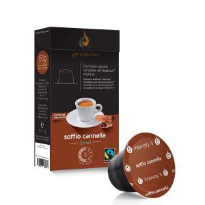 Gourmesso Capsule café Soffio Cannella compatible machines Nespresso
