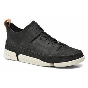 Clarks Originals Trigenic Flex, Sneakers Basses Homme, Noir (Black Nubuck), 39.5 EU