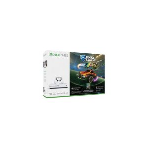 Microsoft Pack Xbox One S 500 Go Blanche + Rocket League + 3 mois Live
