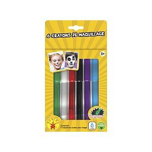 Rubie's 6 Crayons Maquillage À L'Eau
