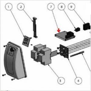 9382113 - Circuit imprimé de réchauffeur Aqua-Line