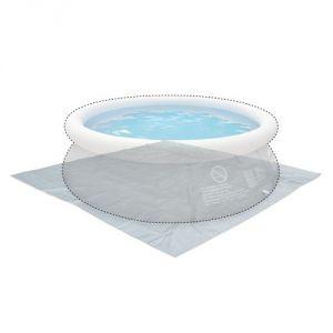 Alice's Garden Tapis de sol 330 x 330 cm pour piscine ronde hors sol Ø300 cm