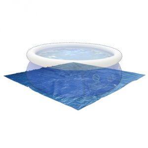 Image de Alice's Garden Tapis de sol 330 x 330 cm pour piscine ronde hors sol Ø300 cm