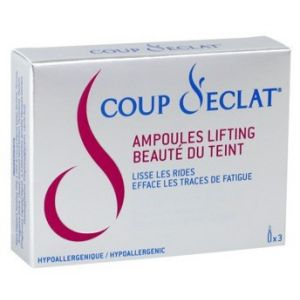 Coup d'éclat Lifting Solution visage (3 ampoules de 1ml)
