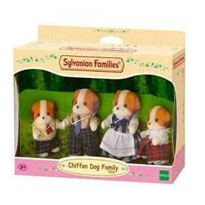 Epoch Sylvanian Families 5000 - Famille chien chiffon