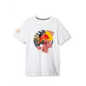 Puma T-Shirt Red Bull Racing Dynamic Bull pour Homme White S
