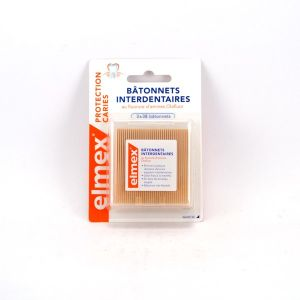 Elmex Bâtonnets Interdentaires 3x38 unités