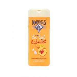 Le Petit Marseillais Hydrate et Nourrit - Douche & Bain enfant Extra Doux avec du lait et de l'abricot