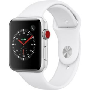 Apple Watch 42MM Alu Argent / Blanc Series 3 Cell