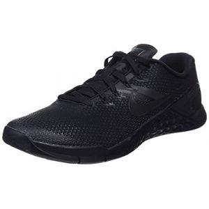 Nike Metcon 4 Homme, Noir (Black/Black-Black-Hyper Rouge Crimson 001), 39 EU