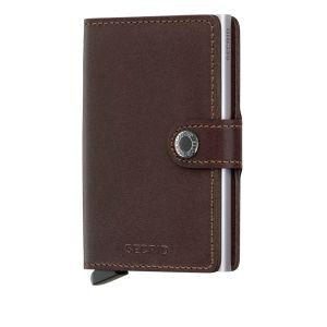 Secrid RFID Cardprotector Miniwallet brown dark