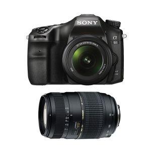 Sony Alpha 68 (avec 2 objectifs 18-55mm et Tamron 70-300mm)