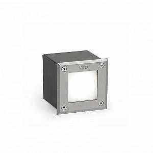 Faro Spot encastré led LED-18 Nickel mat acier inoxydable 71499