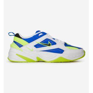 Nike M2K Tekno - Blanc/Noir/Jaune Fluo/Bleu - Bleu - Taille EU 45/US 11