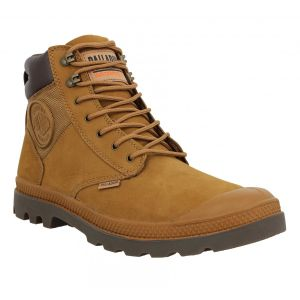 Palladium Pampa Shield WP nubuck nylon Homme-42-Ocre