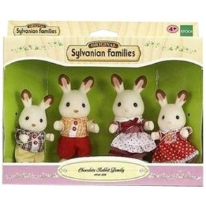 Epoch Sylvanian Families 3125 - Famille lapin chocolat