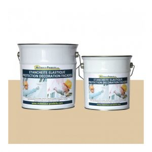 Matpro Peinture Etanche & Elastique Pour Protection Façade Gris Ardoise - 20 Kg Gris ardoise