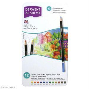 Derwent Colour Boîte de 12 crayons de couleur