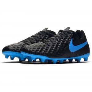 Nike Chaussures de football Tiempo Legend 8 Club FG/MG Noir / Bleu - Taille 44,5