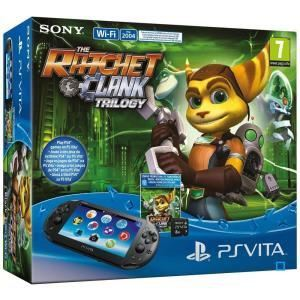 Sony PS Vita Slim (2000) Wi-Fi + The Ratchet & Clank Trilogy  + Carte mémoire 8 Go