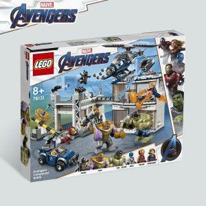Lego L'attaque du QG des Avengers Marvel Super Heroes 76131