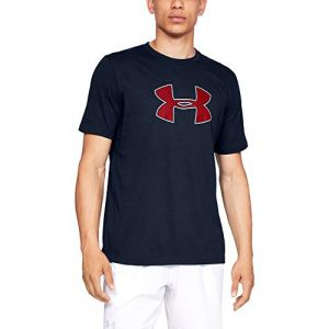 Under Armour Big Logo SS T-Shirt Homme, Bleu, FR : S (Taille Fabricant : SM)