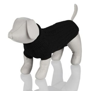 Trixie Pullover Kings of Dogs 35cm coloris noir