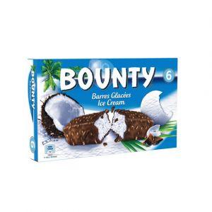 Bounty 6 barres - La boîte de 6, 234,6g