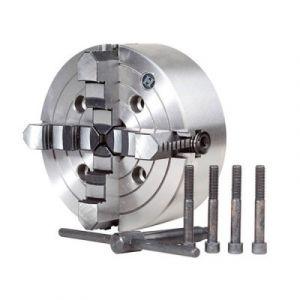 Sidamo Mandrin D. 125 mm 4 mors pour tours métaux TP 550 - 21398113