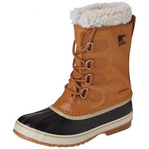Sorel Chaussures après-ski 1964 Pac Nylon - Camel Brown / Black - Taille EU 45