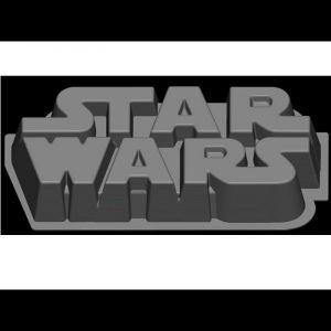 Moule à gâteau en silicone Star Wars Logo
