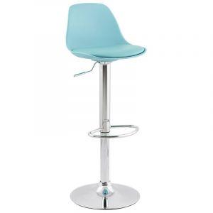 Kokoon Design Tabouret de bar design SUZY bleu