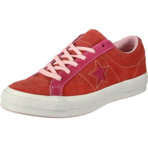 Converse One Star - Ox chaussures Hommes rouge rose T. 42,5