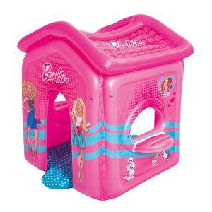 Bestway Cabane gonflable Barbie Malibu Playhouse (150 x 135 x 142 cm)