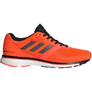 Adidas Adizero adios Boost 4 W Chaussures running femme Rouge - Taille 40